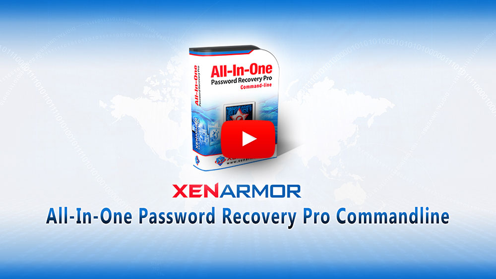 All-In-One Password Recovery Pro Commandline Unlimited Edition 2019