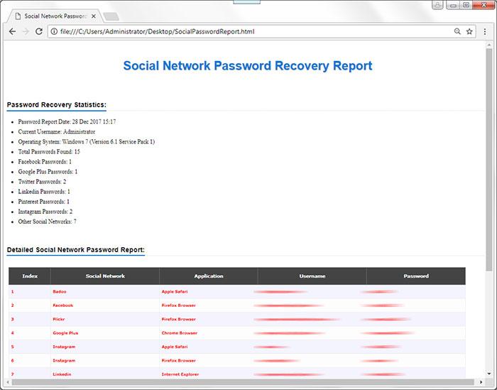Network Password Recovery Crack