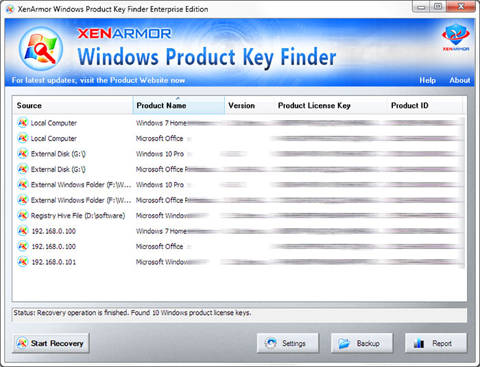 find windows 7 product key software