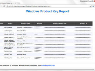 Windows Product Key Finder Software 2019 Edition | XenArmor