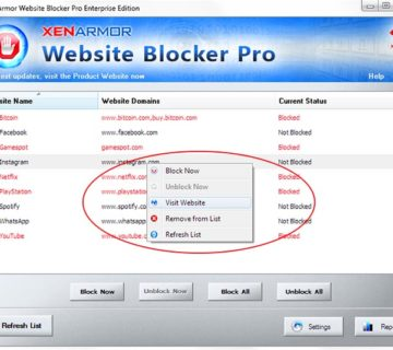 websiteblockerpro-right-click-menu