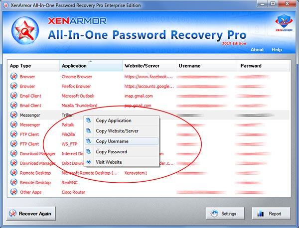 Facebook password recovery software free download for