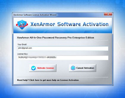 How to Install and Activate Your XenArmor Software?